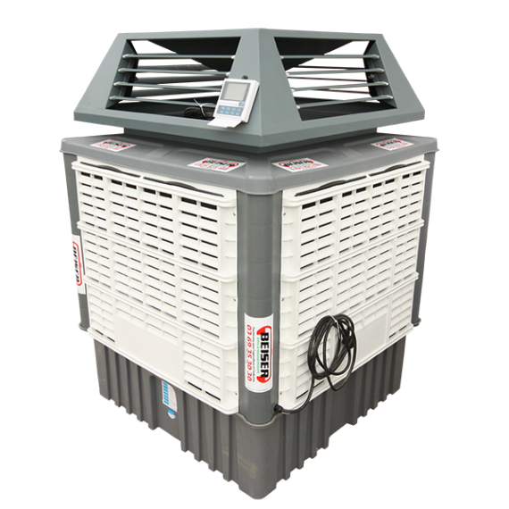 Mobile air cooler 18000 m3 / h