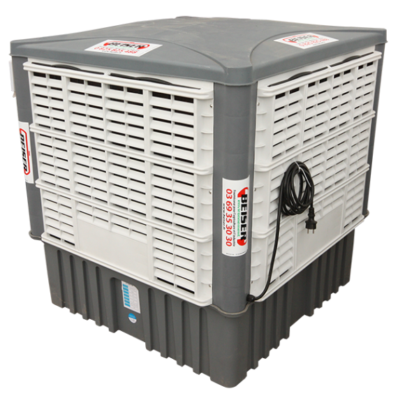 Mobile air cooler 18000 m3 / h