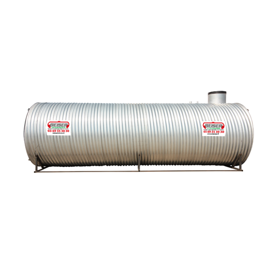 Buried single wall rainwater collection station, 80 000L with pump