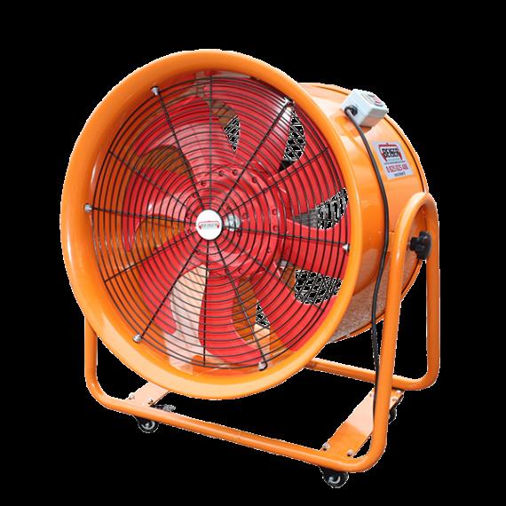Portable extractor fan 600mm – 220V