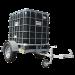 Beiser Environnement - Cubi en plastique PEHD 1000 litres sur châssis agraire