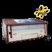 Poule'Lib poulailler bâtiment mobile en kit avec relevage hydraulique 30 m2 - Profil