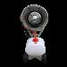 Beiser Environnement - Brumiventilateur 750W/220V 11000m3/h 60L