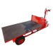 Motorised cart 360 ° with tipper tray - Detail view