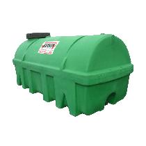Grüner PEHD-Tank 10 000 l, Dichte 1300 kg/m3 (EP)