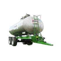 Gebrauchter erneuerter Tank aus rostfreiem Stahl auf Gestell