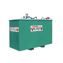 Platzsparende 2000 Liter-Tankanlage SECURIT