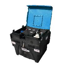 Transport-Pack B-BLUE mit Haspel und Pumpe 12V
