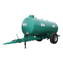 10000-Liter-Tank auf SKIPPER-Gestell, Ausleger mit Federung, Epoxid-Beschichtung