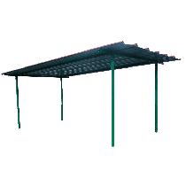 Dach für industrielle Diesel-Treibstoff-Tankanlage 8000 Liter