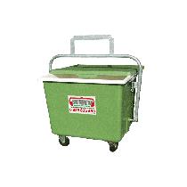 Polyester Entsorgungswagen 600 L