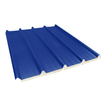 Isoliertes Trapezblech 33-250-1000 60 mm, Schieferblau RAL5008, 5,5 m