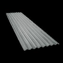 Wellblech 15 Wellen, verzinkt, Stärke 0,60, 4 m