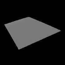 FLACHBLECH für ziegelförmiges Element 1,22 x 2m ANTHRAZIT, pro m²