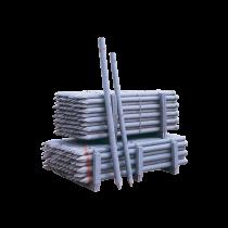 Recycelter PVC-Zaunpflock Ø 70 mm1,80 m