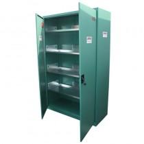 Grüner Sicherheitsschrank - Set 1950 x 1200 x 500 mm