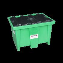 PEHD-Auffangwanne für 1 Fass – 208 Liter