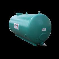 Hochwertiger Stahltank 6000 liter rekonditioniert auf Hilfsrahmen