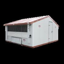 Hühnerstall Mobil im Bausatz 12m²