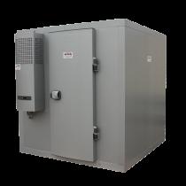 6,31 m3 Kühlraum mit Regalen (-4° / +4°) im Bausatz geliefert