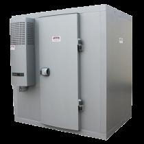8,59 m3 Kühlraum mit Regalen (-4° / +4°) im Bausatz geliefert