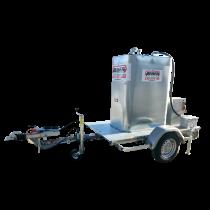 Kraftstofftank VET 700 L auf Fahrgestell