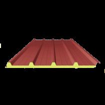 Dach-Sandwichplatte rot 3009 - 6 m, 4-250-40