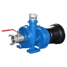 Wasser-Zapfwellenpumpe mit Schlauch, 25 m3/h
