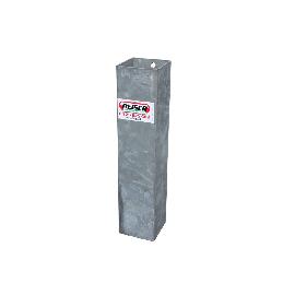 Einbauhülse 80 x 80 für Kälber-Selbstfangfressgitter