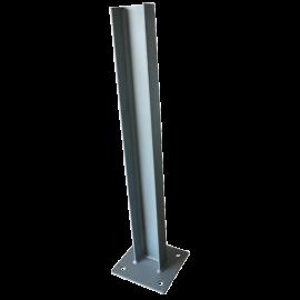 Pfosten auf Schraubplatte für Autobahn Schutzplanke (höhe 0.80M)