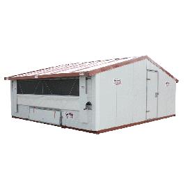 Hühnerstall Mobil im Bausatz - 45m2