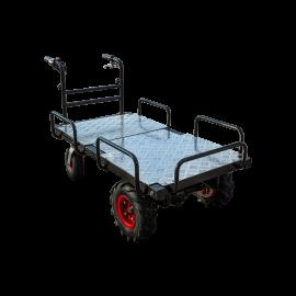 Mobile elektrische Platform mit 4 Räder (großes Modell)