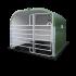 Beiser Environnement - Box polyester avec barrière porte Texas 3 m et caillebotis PVC - Profil