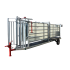 Beiser Environnement - Couloir de contention ES avec pesée et relevage hydraulique - Vue d'ensemble
