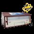 Poule'Lib poulailler bâtiment mobile en kit avec relevage hydraulique 90 m2 - Profil