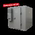 6,31 m3 Negativer Kühlraum mit Regalen (-18° / -23°) im Bausatz geliefert