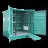 Pflanzenschutzmittelraum 11,5 m3 Regale, Schliessfach und übergang + Sicherheitsschrank, unisolierten