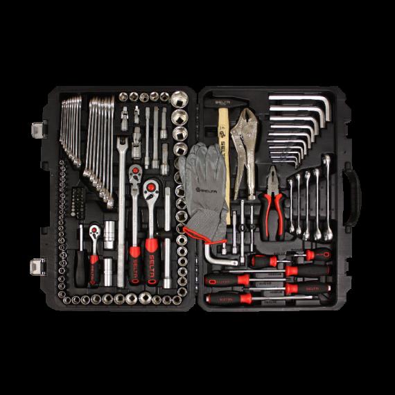 Werkzeugkoffer 142-teilig