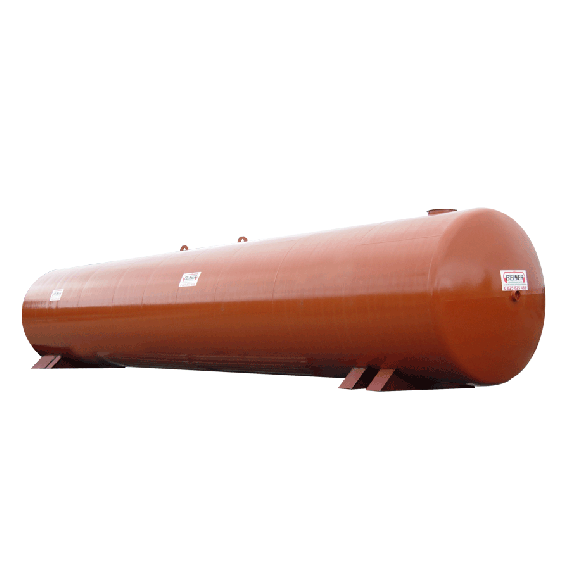 Neuer Stahltank für Löschwasserreserve 60000 Liter, Ø2500 mm