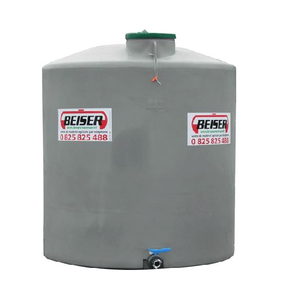 Senkrechter Polyethylentank 15 000 Liter