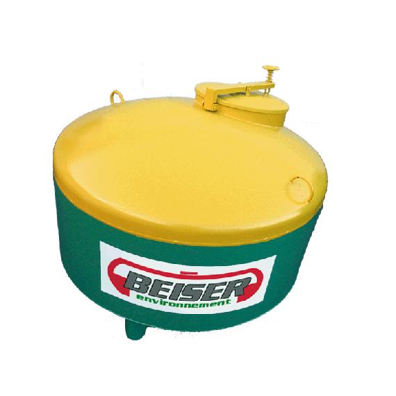 Lagertank für Altöl aus STAHL, 750 Liter