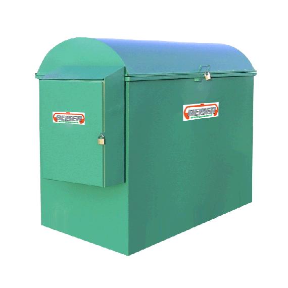 Platzsparende industrielle 1500 Liter-Tankanlage