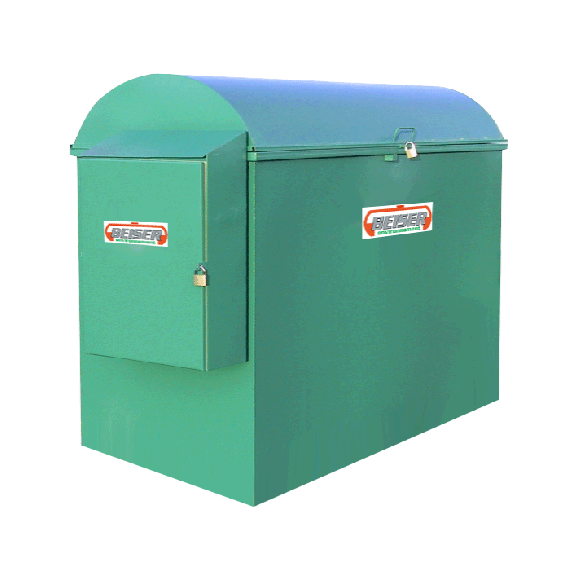 Platzsparende industrielle 2500 Liter-Tankanlage