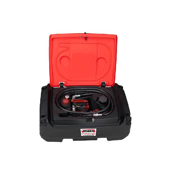 PEHD Treibstoff Transport Pack, 125 L, mit 35 L/min Pumpe, 12 V