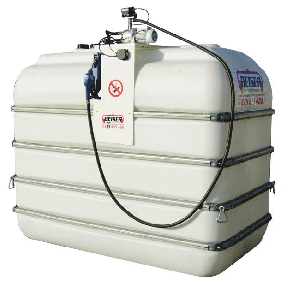 Indoor B-Blue Tankanlage, 2000 L