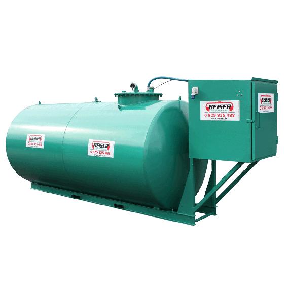 Wirtschaftlich doppelwandige 3000 L Diesel-Tankanlage aus Stahl, Neuste Norm 2. Generation