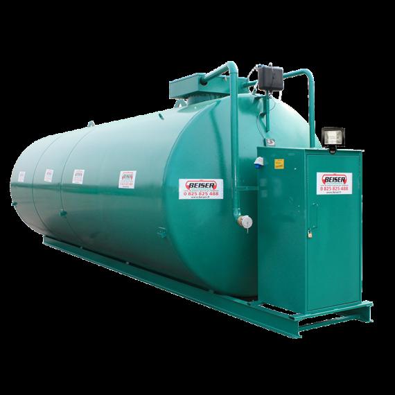 Doppelwandige 50000 L Diesel-Tankanlage aus Stahl, Neuste Norm 2. Generation