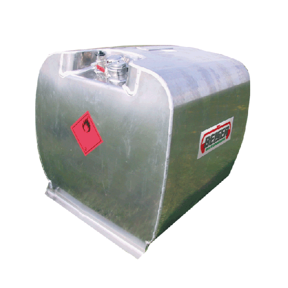 Betankungs-Pack 450 Liter (Aluminiumtank + Pumpe 12 V)