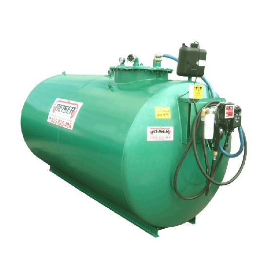 Neue doppelwandige Diesel- Tankanlage 2000 L mit Pumpe 60 L/min Top Angebot