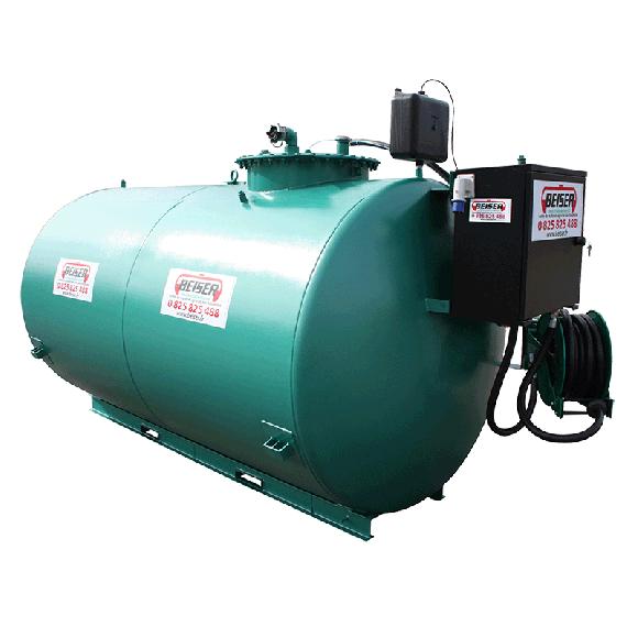 Neue doppelwandige und gesicherte 6000 L Diesel- Tankanlage mit Pumpe 72 L/min Top Angebot